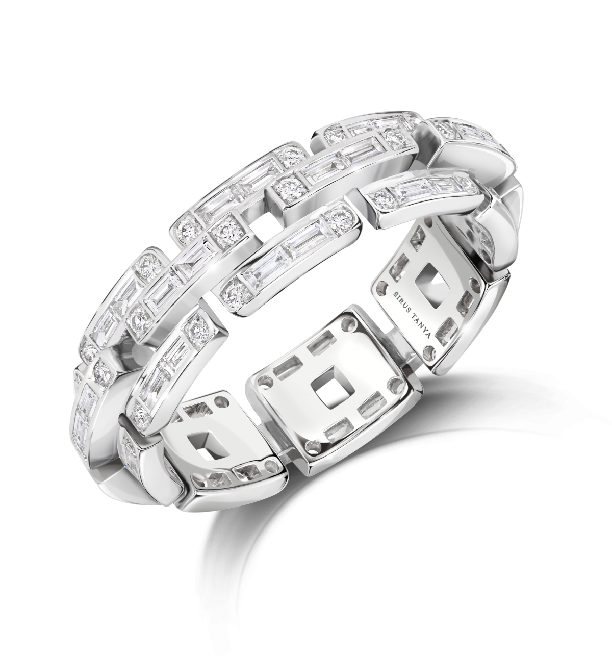 Sirus Chain Diamond Ring